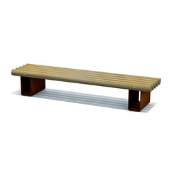Valley Benches | Exterior benches | Streetlife