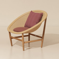 Basket club chair | Sessel | KETTAL