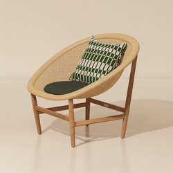 Basket club chair | Garden armchairs | KETTAL