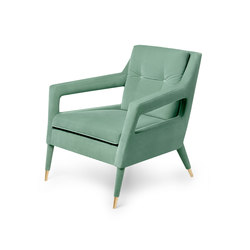 Chantal | Armchair | Poltrone lounge | MUNNA