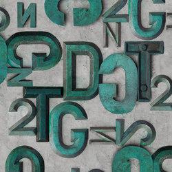 Bronzo | Papeles pintados | Wall&decò