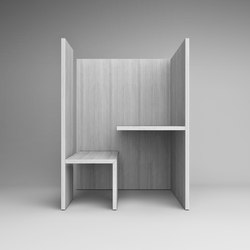GR103 pensiero | Hotdesking / temporary workspaces | HENRYTIMI