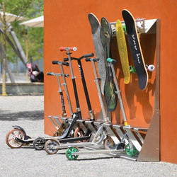 SkateboardZ | Bicycle stands | BURRI