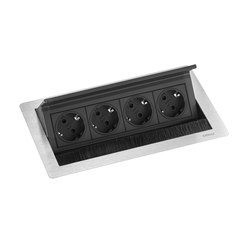 FlipTop Push M | Schuko sockets | EVOline