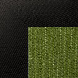 Eyecat | Jade Natural Negro | Alfombras / Alfombras de diseño | WOOP RUGS