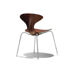 Orbit Wood | Restaurant chairs | Bernhardt Design
