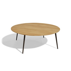Vint mesa baja 110 iroko | Coffee tables | Bivaq