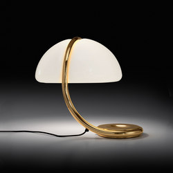Serpente Gold | Luminaires de table | martinelli luce