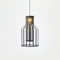 Fibre Light Bottle | Suspended lights | Resident