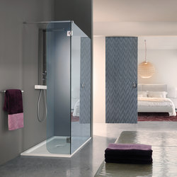 Open Side | Shower screens | SAMO