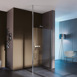 Open Floor-ceiling system | Shower cabins / stalls | SAMO