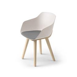Kuskoa Bi Chair | Sedie visitatori | Alki