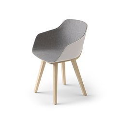 Kuskoa Bi Chair | Visitors chairs / Side chairs | Alki