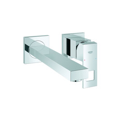 Eurocube 2-hole basin mixer | Wash-basin taps | GROHE