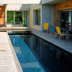 Architect pool | Swimming pools | Piscines Carré Bleu