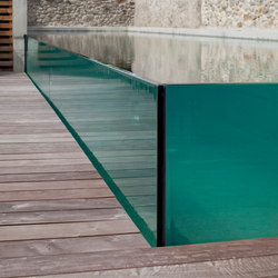 Excelsior glass swimming pool | Swimming pools | Piscines Carré Bleu