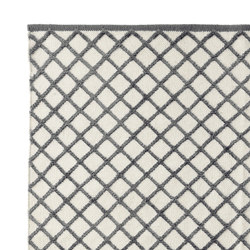 Grid Carpet light grey | Rugs | ASPLUND