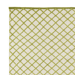Grid Carpet pea green | Rugs | ASPLUND