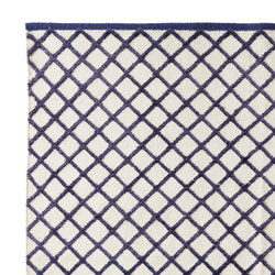 Grid Carpet purple | Rugs | ASPLUND