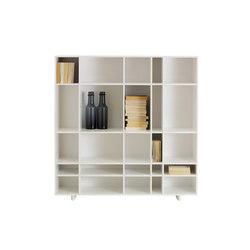Kilt Open 120 | Library shelving | ASPLUND