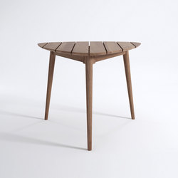 Vintage Outdoor TRIPOD DINING TABLE | Mesas de comedor de jardín | Karpenter