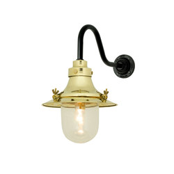 7125 Ship's Small Decklight, Wall Light, Polished Brass, Clear Glass | Illuminazione generale | Davey Lighting Limited