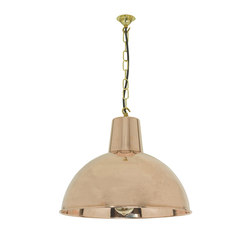 7164 Spun Reflector, Medium, Polished copper | General lighting | Davey Lighting Limited