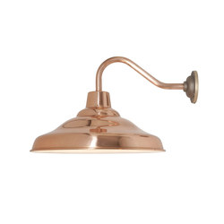 7200 School Wall Light, Polished Copper | Illuminazione generale | Davey Lighting Limited