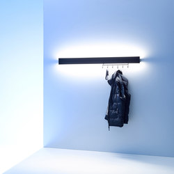 Coat rack light | GERA light system 8 | Wall lights | GERA