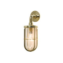 7207 Weatherproof Ship's Well Glass, Polished Brass, Clear Glass | Éclairage général | Davey Lighting Limited
