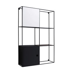 Felt wall-mounted cabinet | Shelving | EX.T