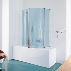 Bath screen Eclisse | Shower screens | SAMO