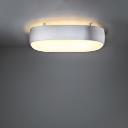 Flat moon square 635x635 up/down TL5 GI | General lighting | Modular Lighting Instruments