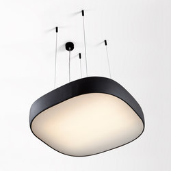 Flat moon square suspension | General lighting | Modular Lighting Instruments