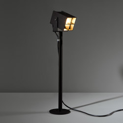 Julien square foot IP54 LED GI | Freestanding floor lamps | Modular Lighting Instruments