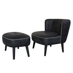 Camilla armchair & pouf | Lounge chairs | Loop & Co