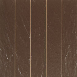 Atlas split marron | Wall tiles | KERABEN