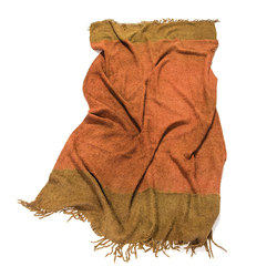 Alpaca Throw Dark Orange | Brown | Plaids / Blankets | Suzusan