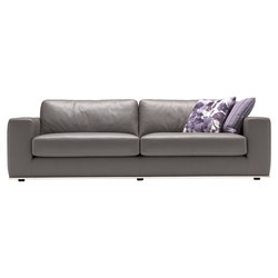 Dalton sofa leather | Canapés d'attente | Loop & Co