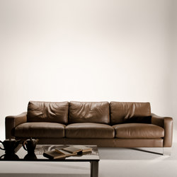 Dolcemaro sofa leather | Canapés d'attente | Loop & Co