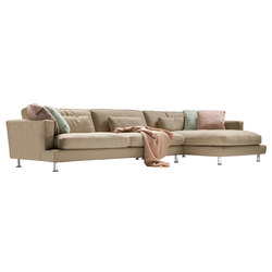 Eleven sofa leather big | Divani | Loop & Co