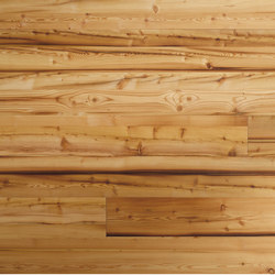 ELEMENTs Galleria Reclaimed Wood Larch | Wood panels / Wood fibre panels | Admonter