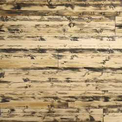 ELEMENTs Galleria Spruce hacked H1 black | Wood panels / Wood fibre panels | Admonter