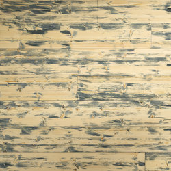 ELEMENTs Galleria Spruce hacked H1 blue | Wood panels | Admonter