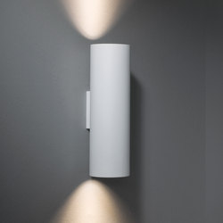 Lotis tubed wall 2x GU10 | Wall-mounted spotlights | Modular Lighting Instruments