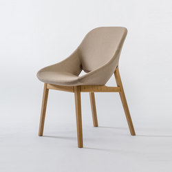 Grace | Visitors chairs / Side chairs | ENNE