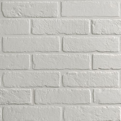 Materica | Bianco Brick | Ceramic tiles | Cotto d'Este