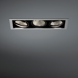 Mini multiple for Smart rings 3x LED GE | Spots | Modular Lighting Instruments