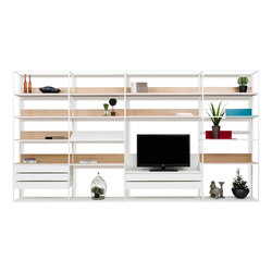 Deep | Shelving systems | ENNE