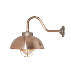 7222 Shipyard Wall, Copper, Clear Glass | Éclairage général | Davey Lighting Limited